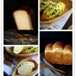 台式香葱面包和甜吐司