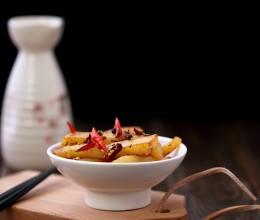麻辣过瘾的土豆吃法———干煸土豆