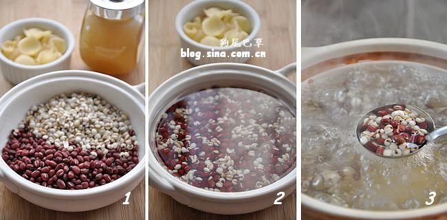 【红豆薏米百合汤】我喜欢的11种红豆吃法