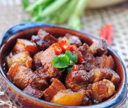 【萝卜红烧肉】冬日里温暖质朴的美味