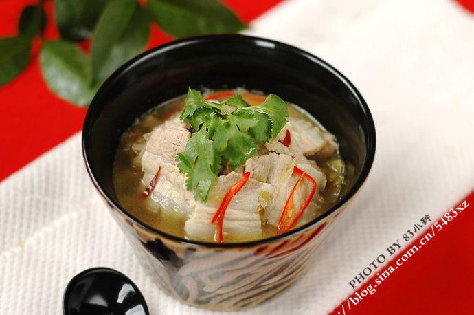 """南方妞眼里的东北菜""""代言人"""":酸菜白肉"""