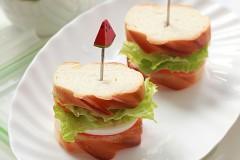 十分钟营养早餐---迷你三明治
