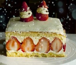 法国最受大家欢迎的蛋糕--------法式草莓奶油蛋糕