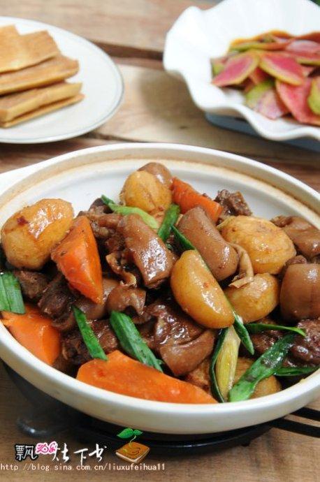 羊肉是冬天里的寶----竹蔗馬蹄羊肉煲(暖而不燥不膻的羊肉怎么做)