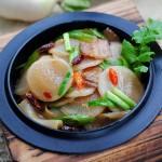 【干锅萝卜】最佳冬季蔬菜超下饭吃法