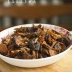 新年素宴之大吉大利----------香菇云耳蒸素鸡