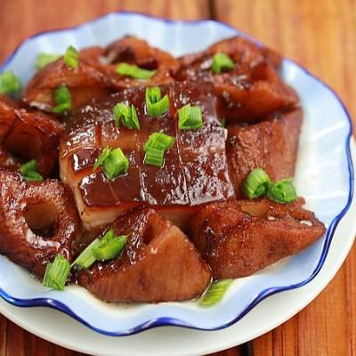 东坡肉和莲藕就像周瑜和小乔是绝配---红烧肉的9种精彩演绎