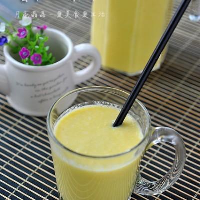 节后清肠来杯健康自制热饮--香甜玉米汁