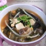 常喝此汤保健康---海带豆腐味噌汤