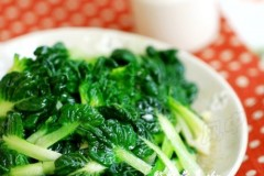 年后最需要,每天都不能少的清淡绿叶菜【蒜蓉乌塌菜】