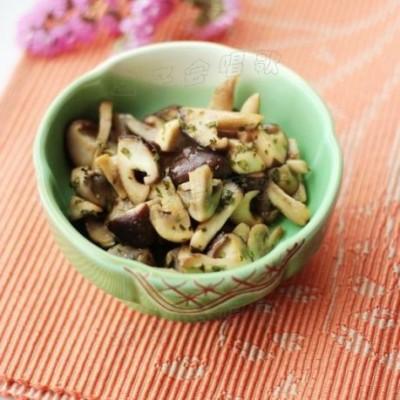 预防春季流感的3分钟快手小炒菜——【油醋双菇】