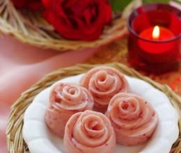 中式面点也浪漫——情人节专供的浪漫玫瑰小花卷