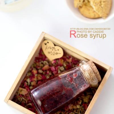 情人节的小情调———玫瑰糖浆