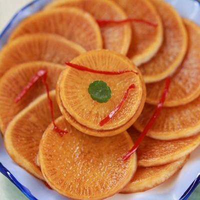 充满江南情调的一盘无敌开胃的腌萝卜
