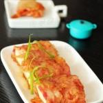 培根卷的鲜美无敌创意新吃法——【泡菜豆腐培根卷】
