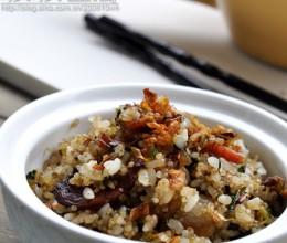【茼蒿藜麦饭】1碗饭能有多诱惑?家常米饭12个花样吃法