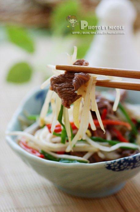 缓解春困的最佳食材——助我们保持旺盛精力的银针牛肉片(附手绘漫画)