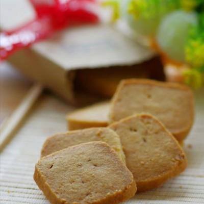 超级小清新的伴手礼——清香怡人的柠香椰蓉小酥饼