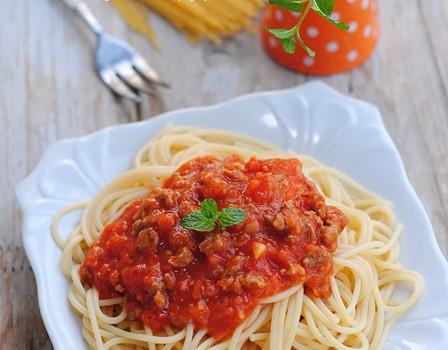 【番茄牛肉酱意大利面】煮意大利面六部曲