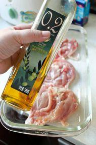 用烤箱做出口感丰富鲜嫩的鸡腿——香芒柠檬奶油鸡腿
