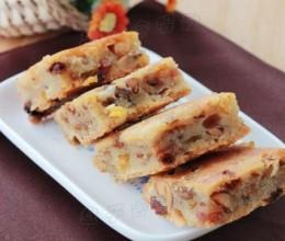 糯米糕的非主流做法更简单好吃——【什锦烤糯米糕】