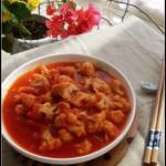 番茄菜花——做好这道菜的关键是炒好番茄酱