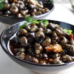 【酒香炒螺】煮—炒—焖酥软又透味的美味炒螺三步养成!