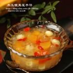 最家常的平民美肤汤—【木瓜银耳莲子汤】