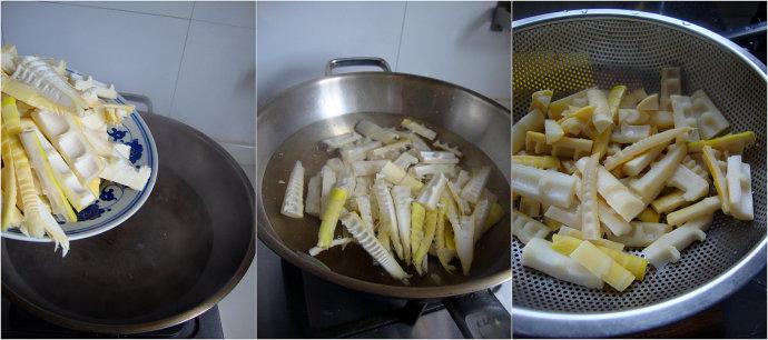用酒酿取代糖可以做出更加健康的春天代表菜-----酒酿油焖笋