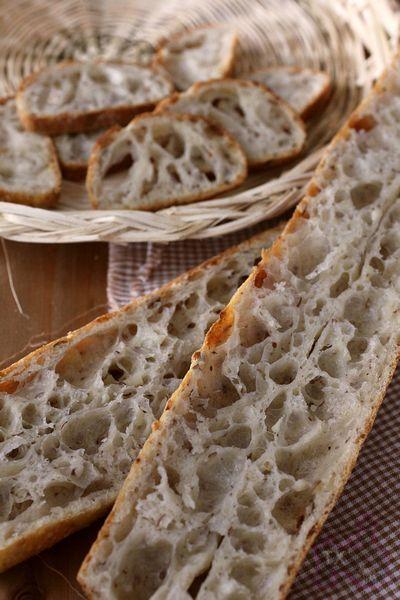 36小时天然酵种亚麻籽法棍-营养和风味兼备