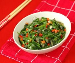 春天里,那碗鲜掉眉毛的小素菜—【上汤豌豆尖】