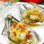 洋溢着热带风情的海鲜新吃法——菠萝芯酸辣带子