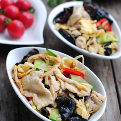 【木须肉】一道菜多重营养(附菱形片切法)