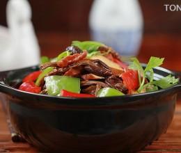 30张详图教你做一回正宗的干锅菜---干锅茶树菇香干