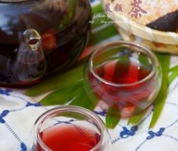 十分钟泡一杯香艳丽人神仙汤——补血养颜的洛神菊花茶
