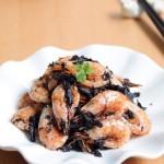 当寒冷北极甜虾撞上江南风味----霉干菜北极虾