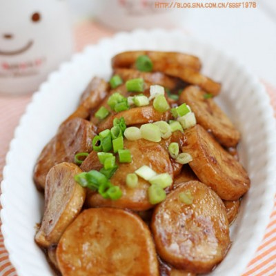 五分钟做一道儿童营养开味菜酱焖杏鲍菇