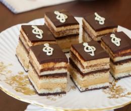 歌剧院蛋糕是玩烘焙要过的一关L'Opéra