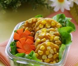 方便携带的10分钟健康早餐——营养俱全的奶香甜玉米小煎饼