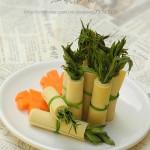 只有春天才可以品尝到的美味—豆皮香椿卷儿
