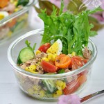 减肥沙拉一定不能放沙拉酱——蔬果沙拉