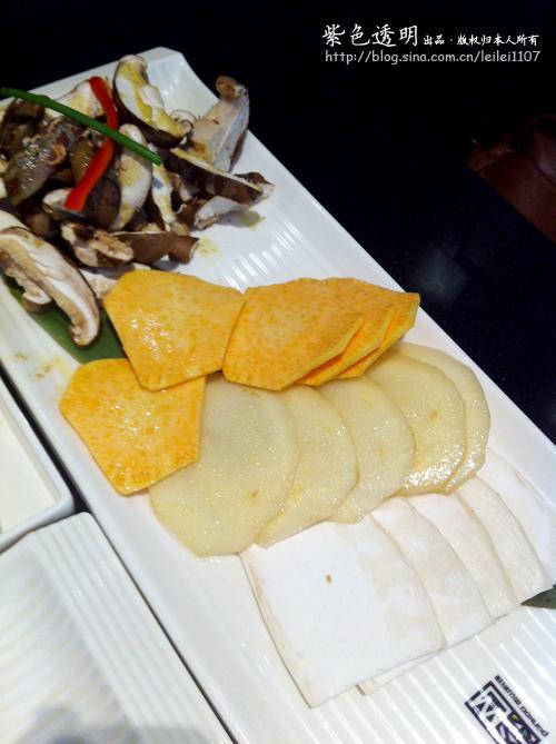 食记录:韩国烧烤吃的就是一个热情--PANKOO釜山料理(手机拍摄)