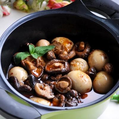 【酒糟花菇&土鸡蛋】28道的荤素一锅端的懒人菜!