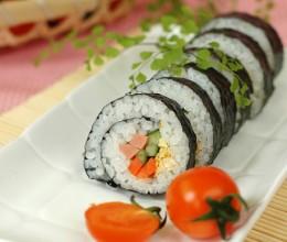 12张步骤图详解最基础版紫菜包饭的做法