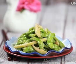 初夏最嫩的蔬菜该怎么吃?---软荚豌豆是初夏的宝