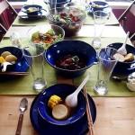 【家宴】如何气定神闲搞定多人家宴--中西合璧私家聚会六人家宴