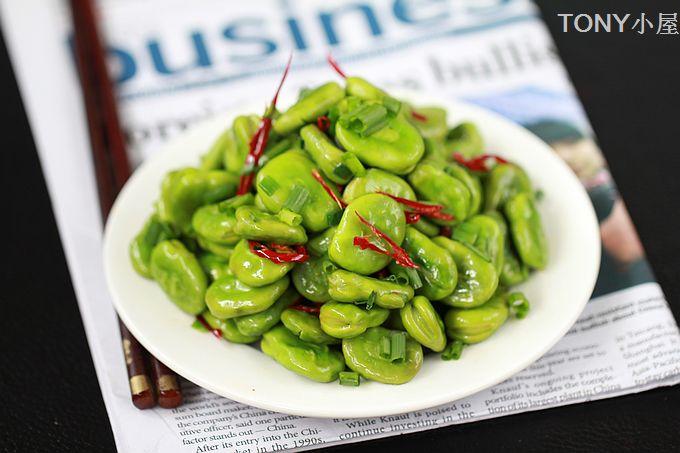夏天不能错过的24道时令菜----高考生不可错过的增强记忆的香葱爆蚕豆