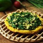 演绎西式披萨之中国农家做法----农家大糊饼