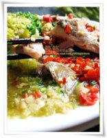 """【葱油鱼片】1鱼3吃,30秒""""滑""""出一盘美味鱼!"""