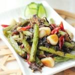 干煸豆角的江南风味吃法——【梅干菜干煸豆角】